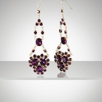 Ralph Lauren Purple Chandelier Earring
