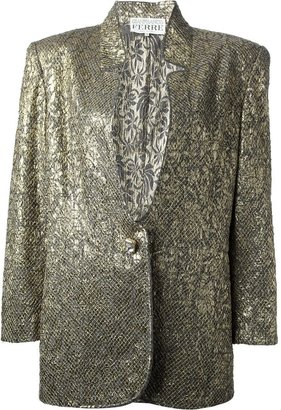 Gianfranco Ferré Pre Owned Jacquard Jacket And Skirt Suit