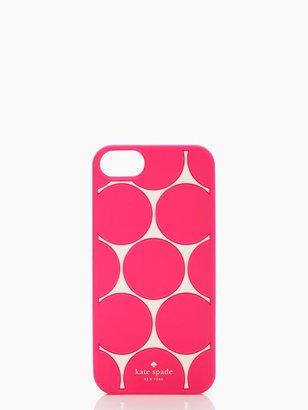 Kate Spade Deborah dot iphone 5 case