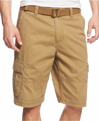 American Rag Men's Belted Relaxed Cargo Shorts, Only At Macy's $29.98 thestylecure.com