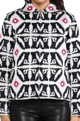 Mara Hoffman Embroidered Bomber