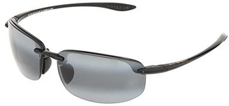 Maui Jim Ho'okipa Readers 2.5 (Gloss Black/Neutral Grey Lens/2.5 Lens) Reading Glasses Sunglasses