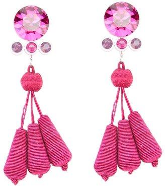 Holly Fulton dropped tassel earrings