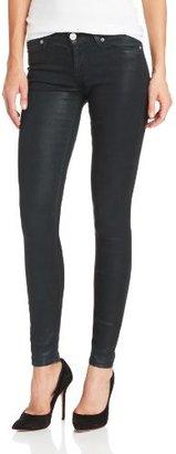 Hudson Jeans Women's Krista Wax-Coated Skinny Jean