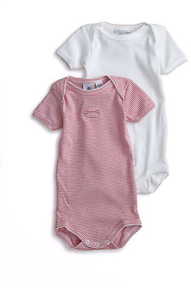 Petit Bateau Infant's Two-Piece Cotton Bodysuit Set