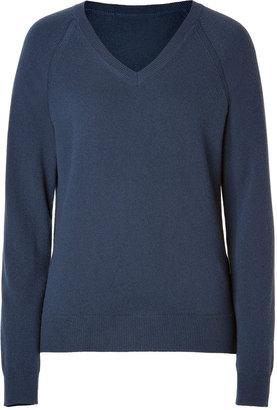 Closed Cashmere Pullover in Dark Denim Blue
