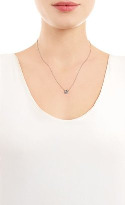 Zoe Rose Cut Diamond Pendant Necklace-Colorless
