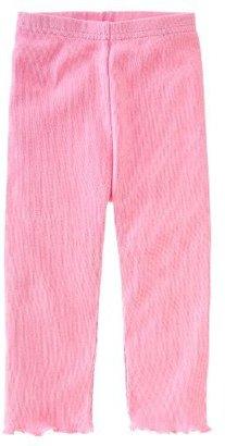 Gymboree Dark Pink Ruffle Legging