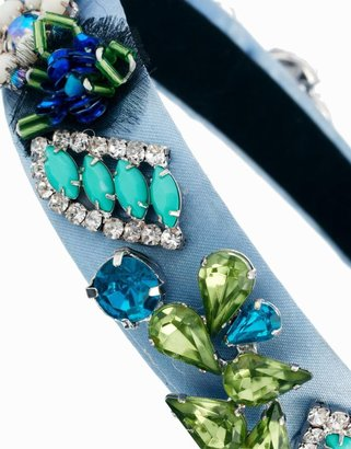 Asos Jewel Brooch Headband