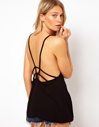 Asos Swing Cami Top with Strappy Back