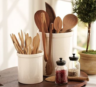 Pottery Barn Rhodes Ceramic Kitchen Utensil Holders