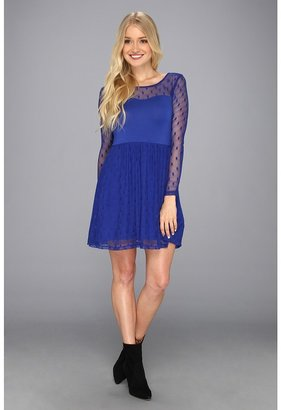 Kensie KS9K9526 Dress (Bright Cobalt) - Apparel