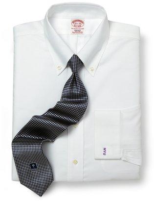 Brooks Brothers New York University All-Cotton Non-Iron BrooksCool® Regular Fit Dress Shirt