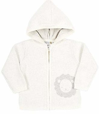 Barneys New York Infants' Lion Hooded Cardigan - Cream