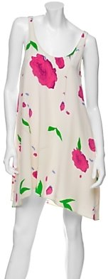 Rory Beca Silk Floral Trapeze Dress