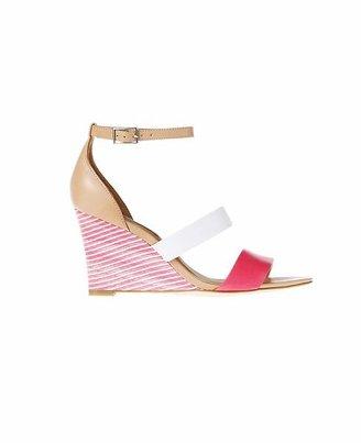 Ann Taylor Karmen Wedge Sandals