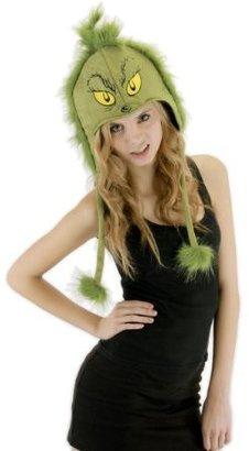 Elope Grinch Hoodie Hat