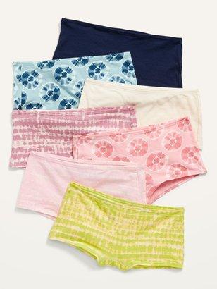 Old Navy 7-Pack Boy Short Underwear for Girls