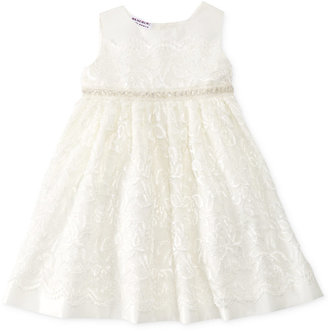 Blueberi Boulevard Baby Girls' Lace Special Occasion Dress $70 thestylecure.com
