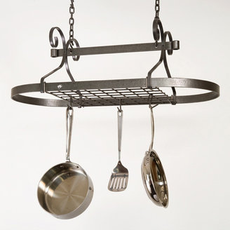 Enclume Scrolled Oval Ceiling Pot Rack