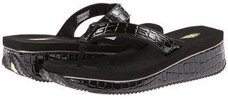 Volatile Downunder (Black) Women's Sandals