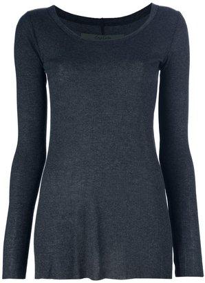 Enza Costa scoop neck sweater