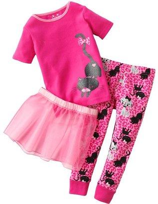 Hello Kitty Jumping beans ® cat tutu pajama set - toddler