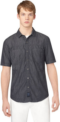 Calvin Klein JEANS Dotted Chambray Sport Shirt