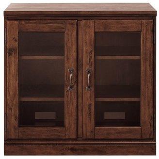 """Pottery Barn Printer's 32"""" Glass Door Cabinet"""