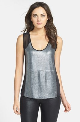 Kenneth Cole New York 'Michele' Knit Tank Top (Petite)