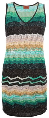 Missoni v-neck dress