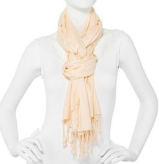 JCPenney Solid Twill Pashmina-Style Scarf
