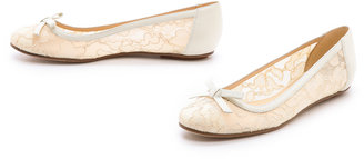 Kate Spade Banner Lace Flats