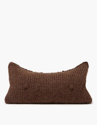 A Cup Pillow in Mocha