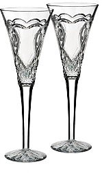 Waterford Wedding Collection Toasting Flute, Set of 2