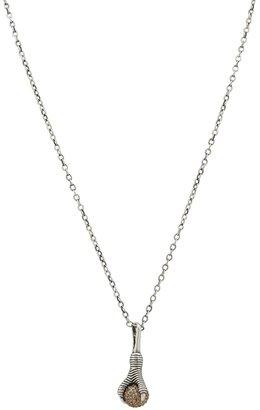 House Of Harlow Talon and Diamond Pendant Necklace