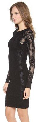 Jean Paul Gaultier Long Sleeve Knit Dress