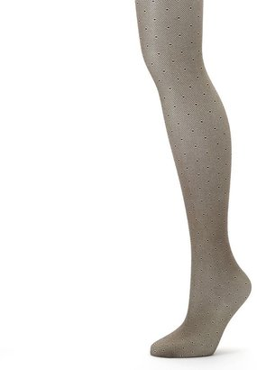 Apt. 9 dotted control-top tights