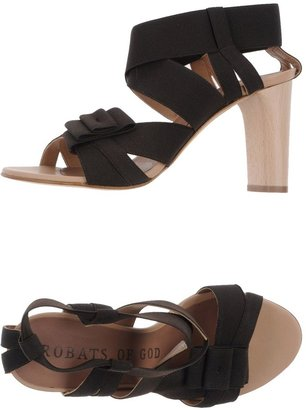 Acrobats Of God High-heeled sandals
