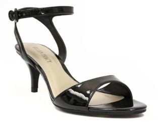 Ellen Tracy Eva Patent Leather High-Heel Sandals