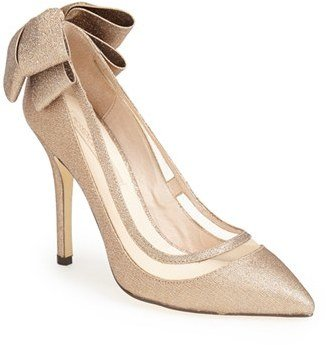 Women's Menbur 'Crusy' Glitter Pointy Toe Pump $129.95 thestylecure.com