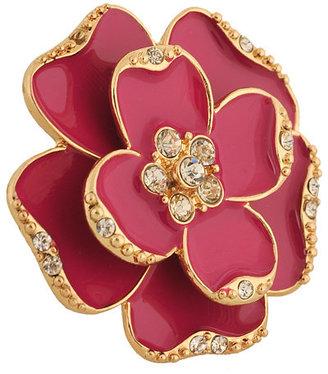 Forever 21 Lacquered Flower Ring