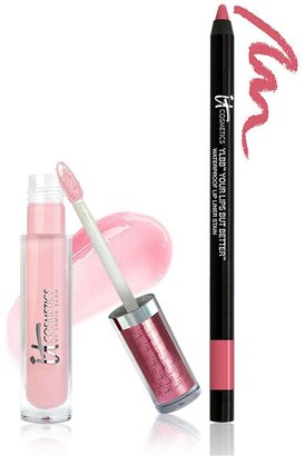 It Cosmetics Perfect Lip Gloss Stain and Liner Stain Duo