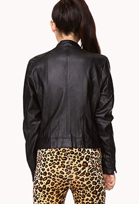 Forever 21 Street-Chic Faux Leather Jacket