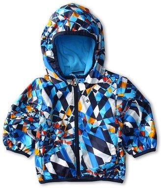 Columbia Kids - Mini Pixel Grabber Wind Jacket (Infant/Toddler) (Hyper Blue Fractal/Riptide/Collegiate Navy) - Apparel