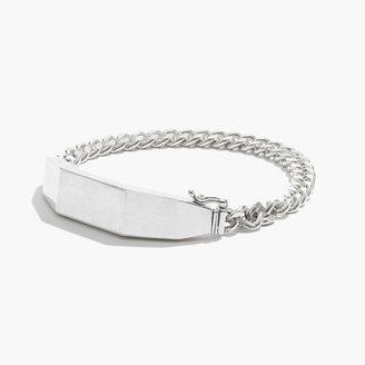Madewell Sterling-Silver ID Bracelet
