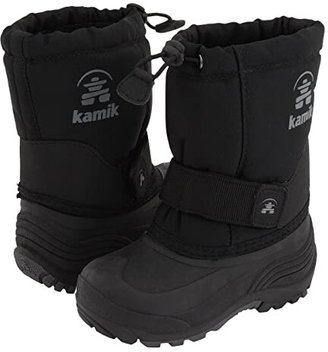 Kamik Rocket Wide (Toddler/Little Kid/Big Kid) (Black) Boys Shoes