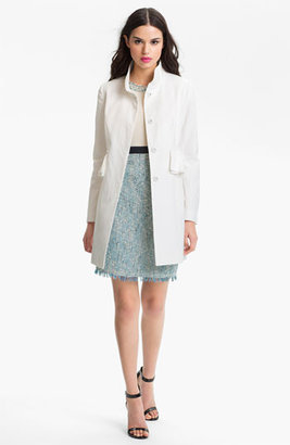 Tahari 'Jenna' Peplum Walking Coat (Online Only)
