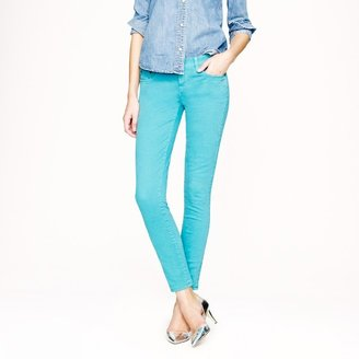 J.Crew Toothpick jean in garment-dyed twill