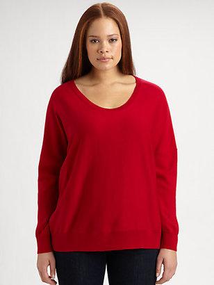 Eileen Fisher Eileen Fisher, Salon Z Merino Wool Pullover Sweater